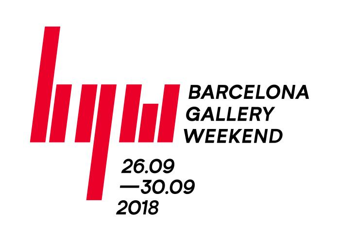 Logotíp del Barcelona Gallery Weekend 2018